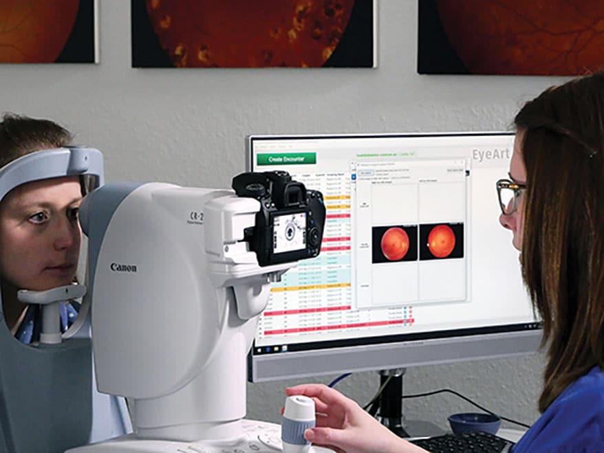 EyeArt autonomous AI System