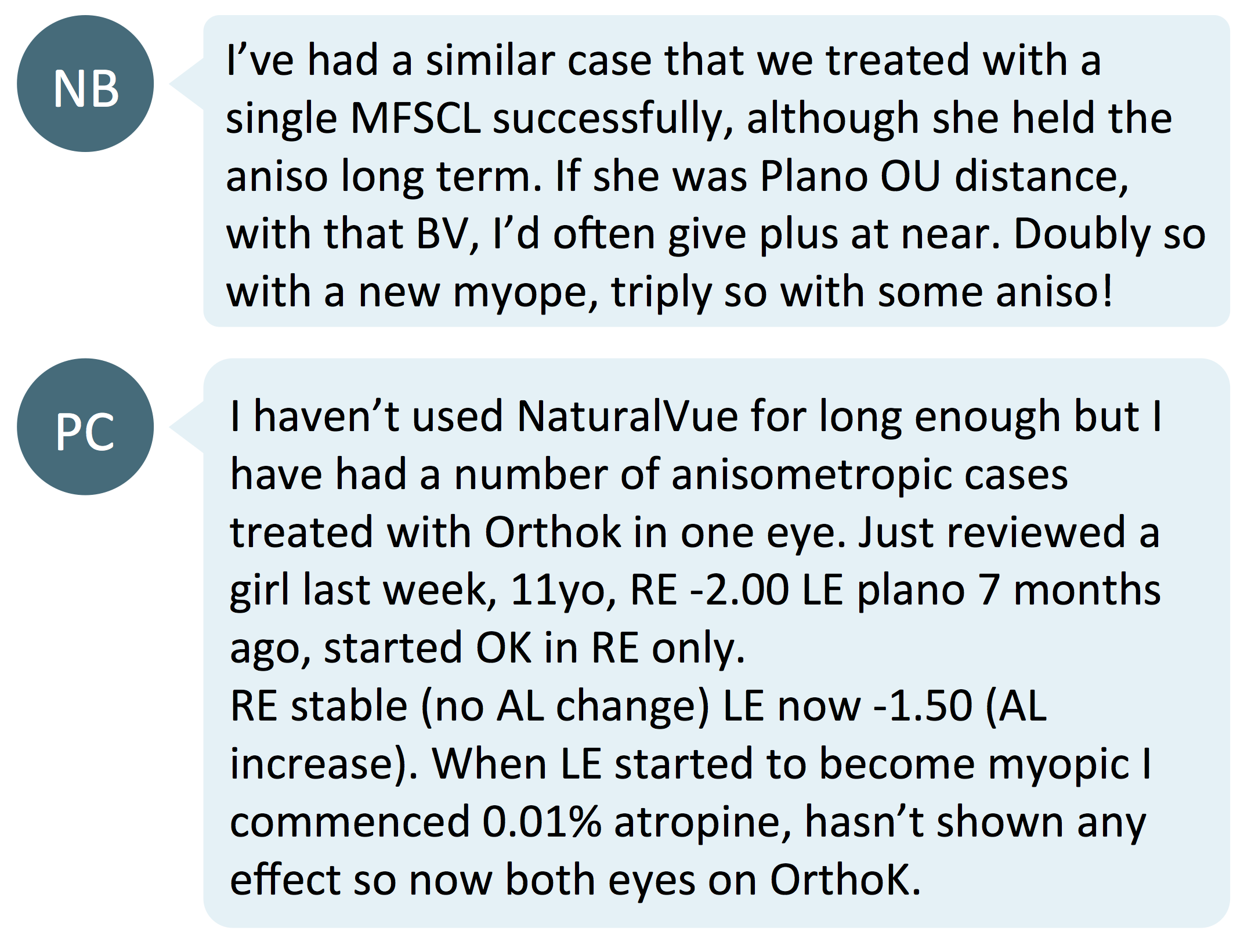 new 2nd monocular myopia